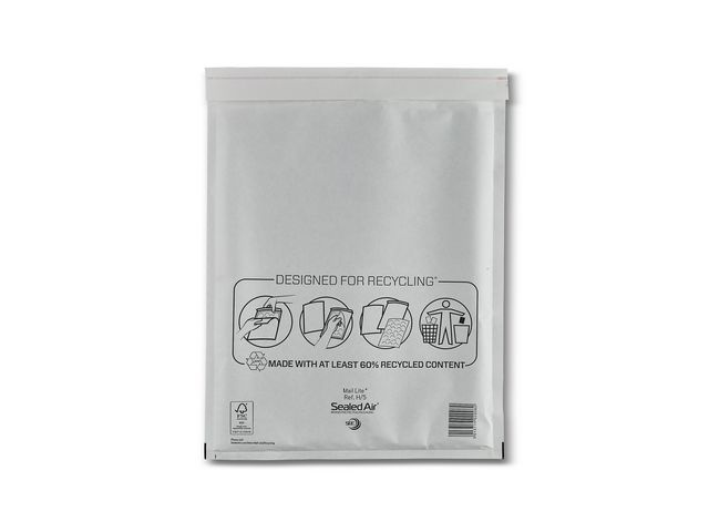 Mail Lite® Luchtkussenenvelop MailLite + H/5 wit/10