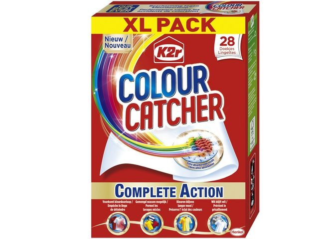 Doekje antikleur Colour Catcher /pk28