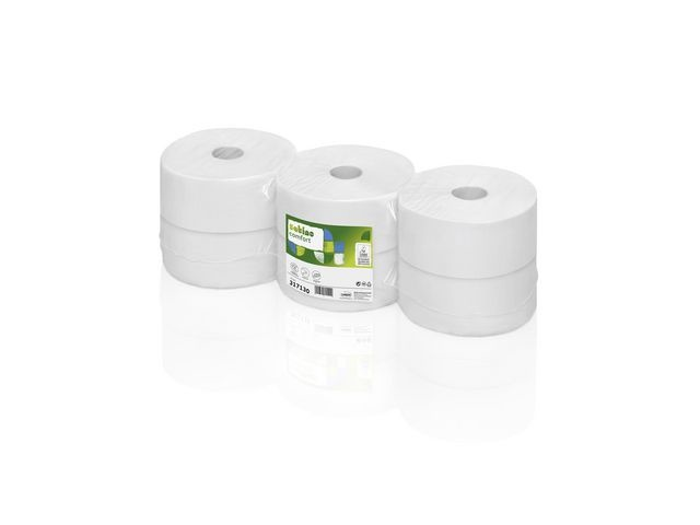 wepa Toiletpapier Wepa 2L 380m wit/ds6