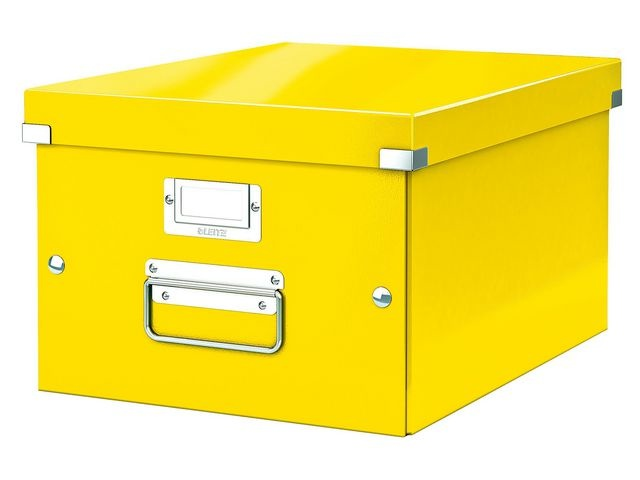 Leitz Archiefdoos ClickenStore M A4 geel