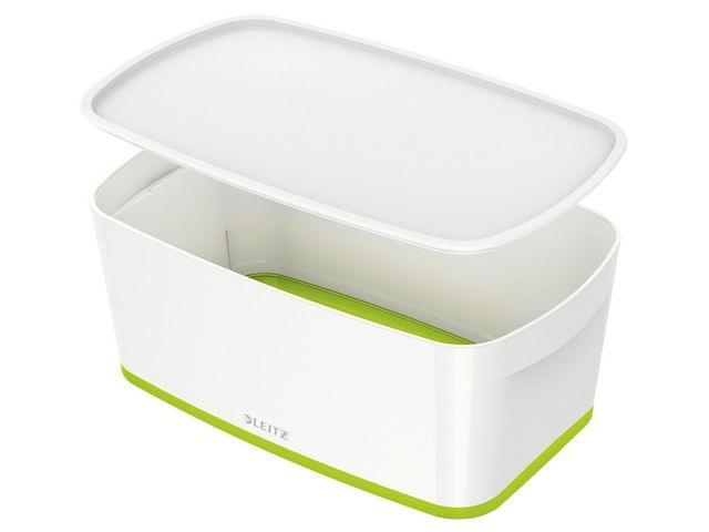 Leitz Opbergbox MyBox WOW small wit/groen
