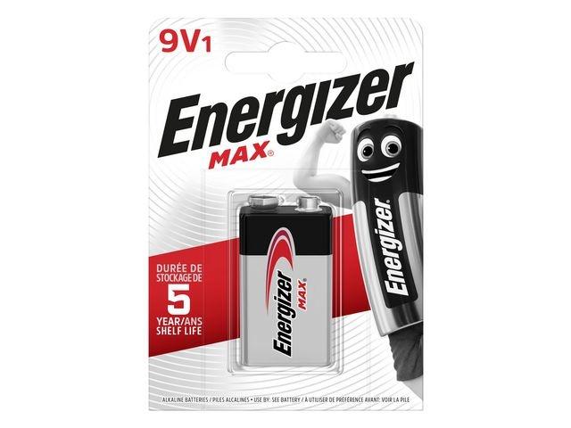 Energizer Batterij Energizer Max 9V/bl 1