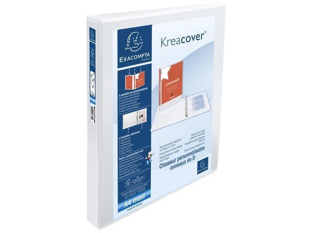 Exacompta Presentatieringband A4-maxi 4D25 wt