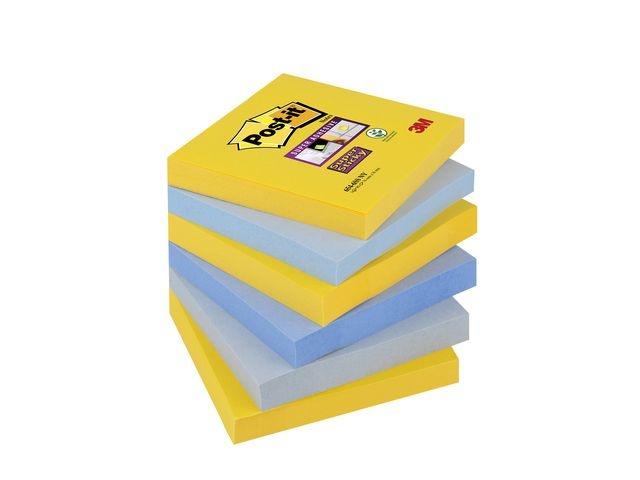 Post-it® Notitieblok SuperSt 76x76 New York/pk6
