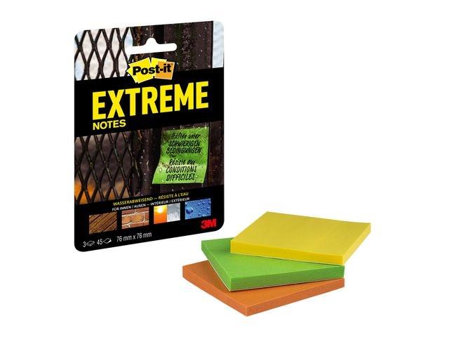 Post-it® Notitieblok Post-It Extreme 76x76 ass/b3