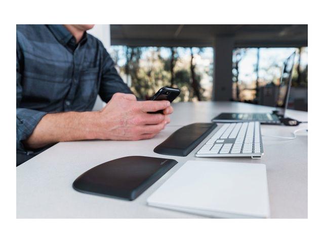 Kensington Polssteun ErgoSoft toetsenbord zwart