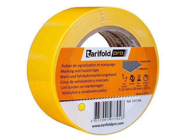 tarifold Markeringstape Jalema 50mmx33m geel