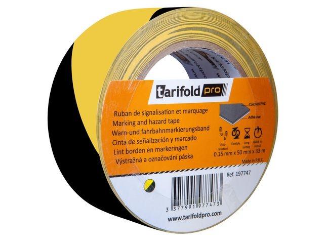 tarifold Markeringstape Jalema 50mmx33m gl/zw