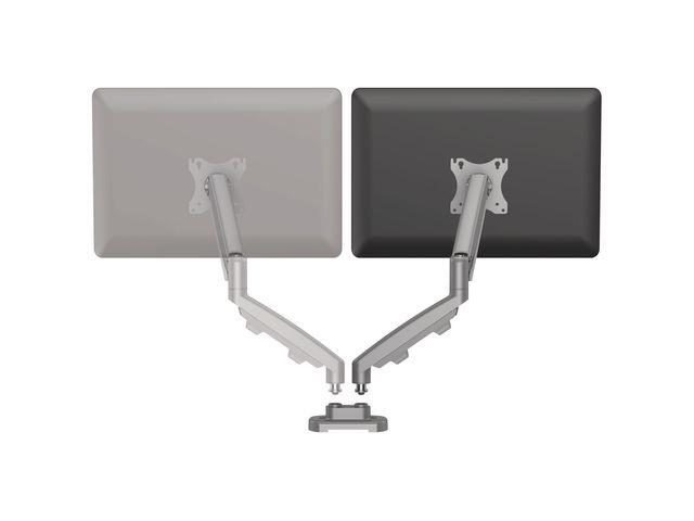 Fellowes Monitorarm kit Eppa dubbel zilver