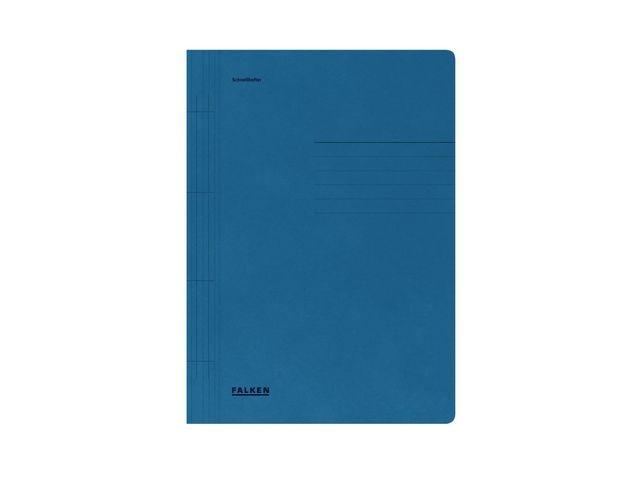 FALKEN Hechtmap Falken A4 karton 250g blauw/100