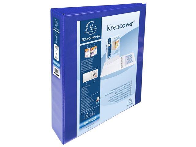 Exacompta Presentatieringband A4-maxi 4D50 bl