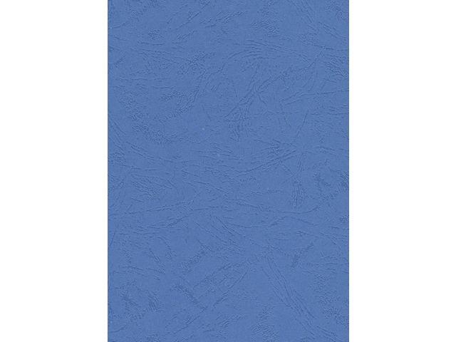 Schutblad BLP leather A4 blauw/pk 100