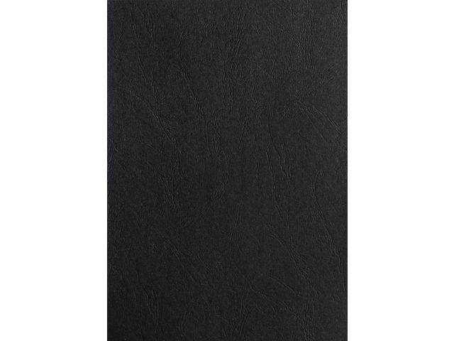 Schutblad BLP leather A4 zwart/pk 100