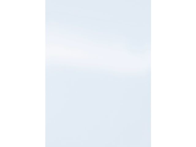 Schutblad BLP A4 glans wit/pk 100