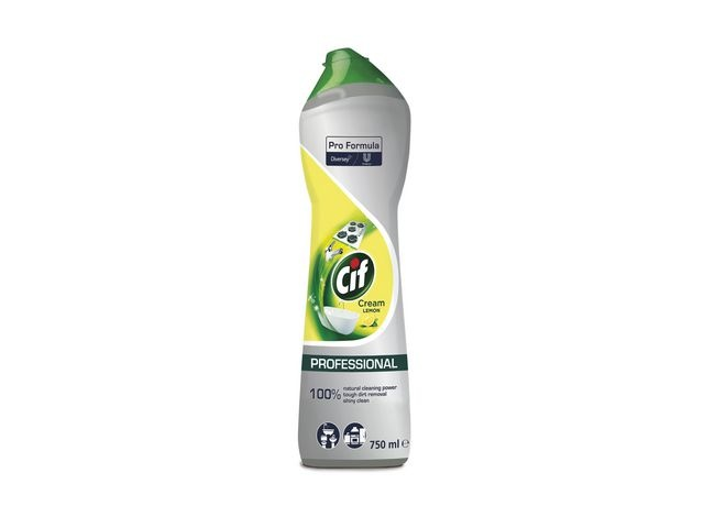 Cif Schuurmiddel Cif cream lemon 750ml/ds8