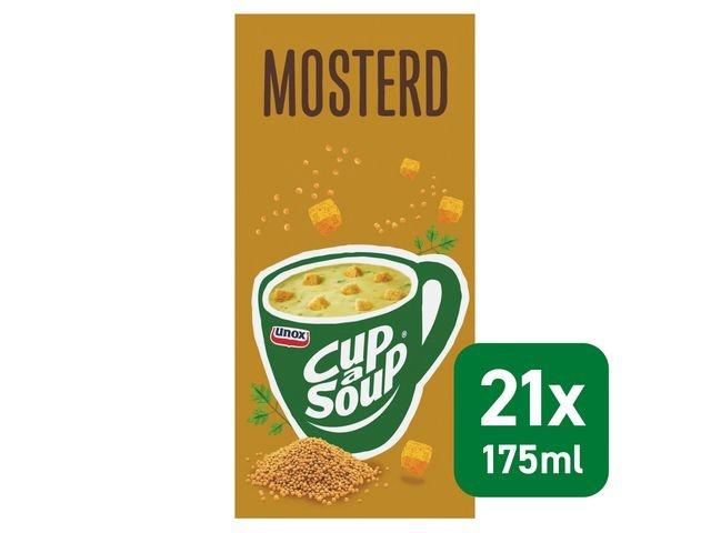 Unox Soep Cup-a-soup Unox mosterd/pk21