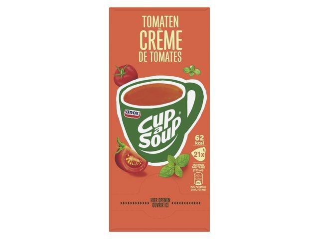 Unox Soep Cup-a-soup Unox tomaat cr./pk21