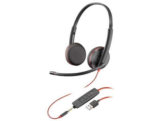Plantronics Headset Plantronics Blackwire C3220 USB