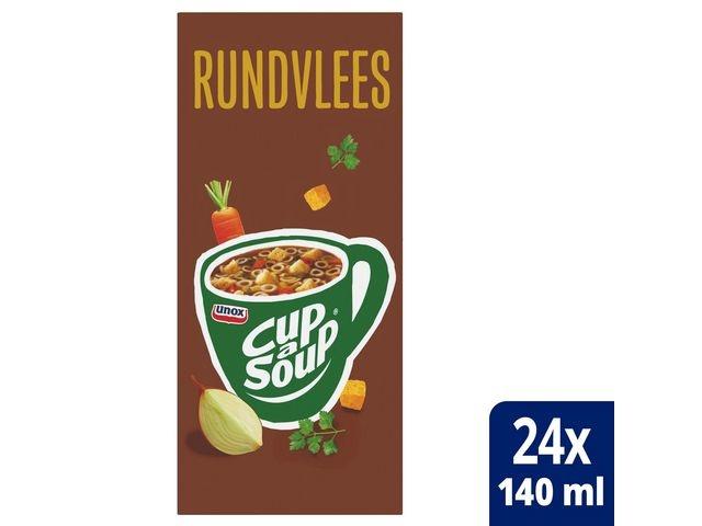 Unox Soep Cup-a-soup Unox rundvlees/pk24