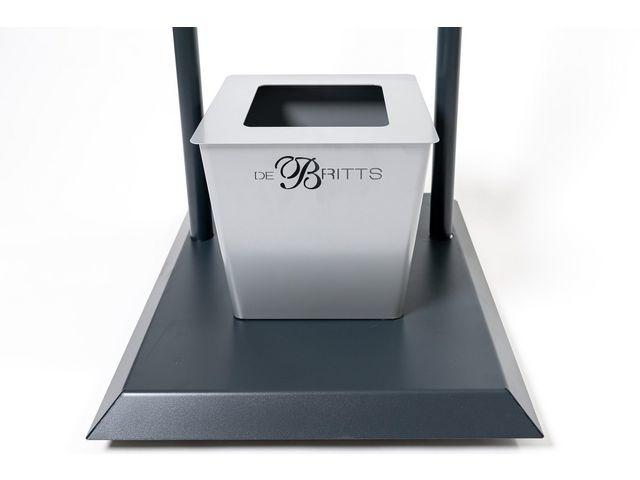 DeBritts Afvalbak DeBritts 50L tbv de standaard