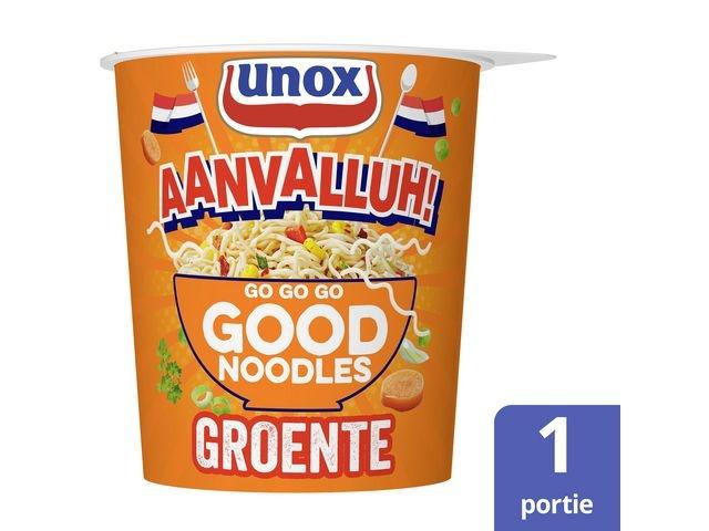 GOOD NOODLES Good noodles Unox groente cup 65g/pk8