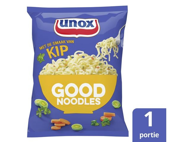GOOD NOODLES Good noodles Unox kip zak 70g/pk11