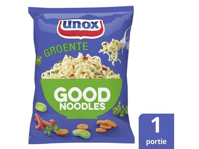 GOOD NOODLES Good noodles Unox groente zak 70g/pk11