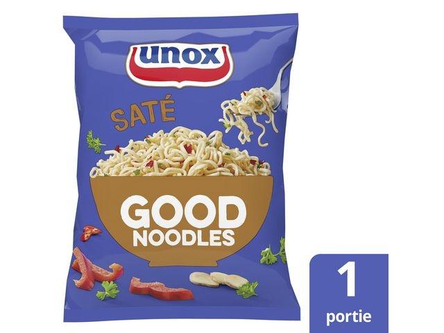 GOOD NOODLES Good noodles Unox sate zak 70g/pk11