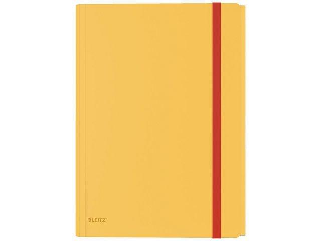 Leitz Elastomap Cosy 1-150v PP 3-kl warm geel