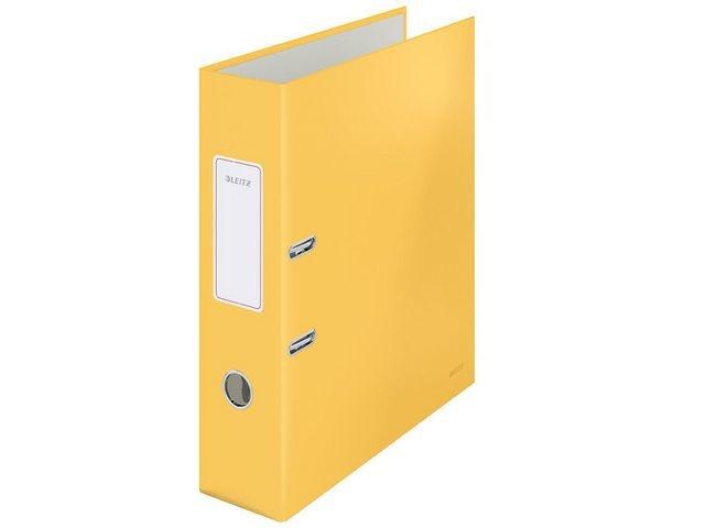Leitz Ordner Cosy 80mm A4 karton warm geel
