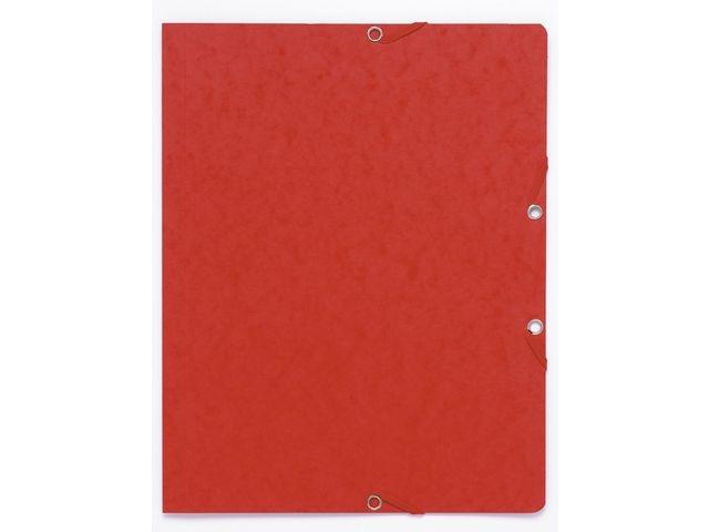 LUCART Elastomap A4 Manilla karton rood/pak 10