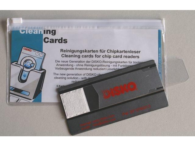 Reinigingskaart Disko 1533 Chipcard/pk 3