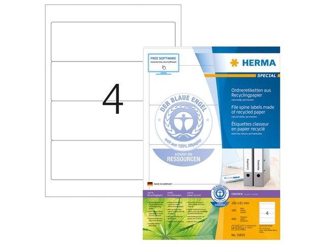 Herma Label ILC 192x61 recy wit/pk400