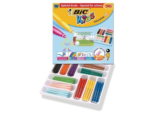 BiC Viltstift Bic Kids Visacolor XL ass/ds96