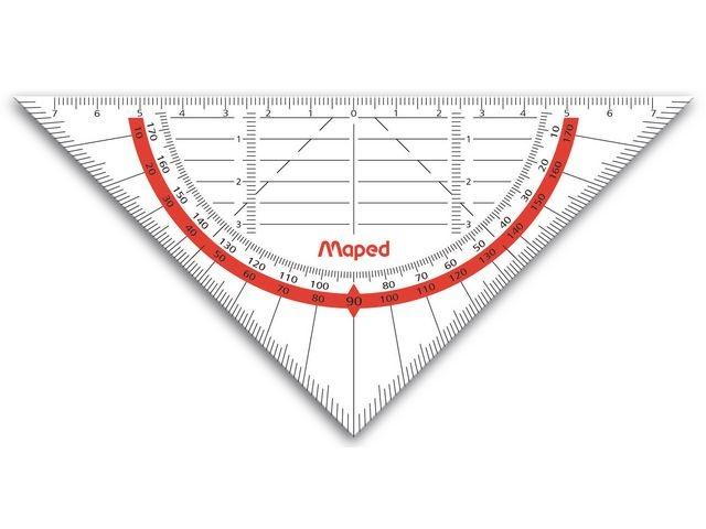 Maped Geodriehoek Maped 16cm-45°