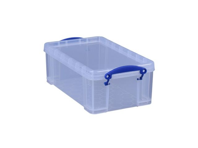 Really Useful Box Opbergbox RUB 5L transparant