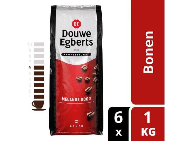 Douwe Egberts Koffiebonen DE roodmerk/pk1000g