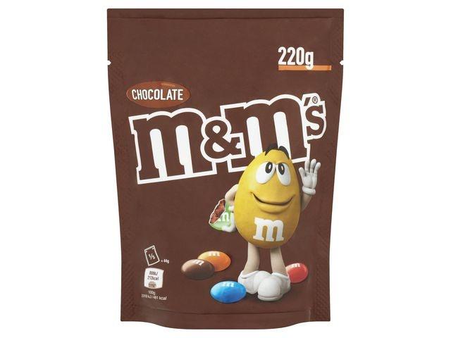 M&M'S Chocoladesnack M+M's choco 220gr