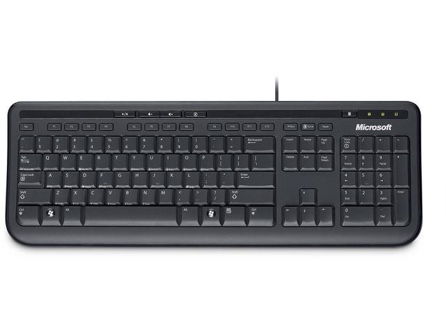 Toetsenbord Microsoft 600 zwart