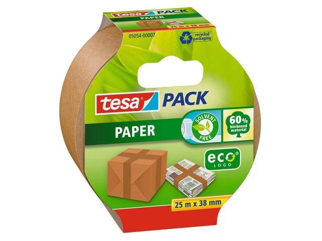 tesa® Verpakkingstape ECO papier 38mmx25m br