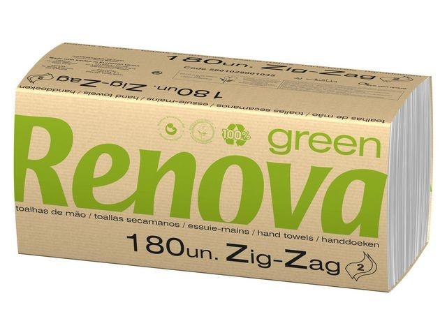 Renova Handdoek Renova 2l Zzvouw wit/wr10x180
