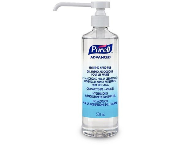 Purell® Handgel Purell m/pomp/fles 500ml