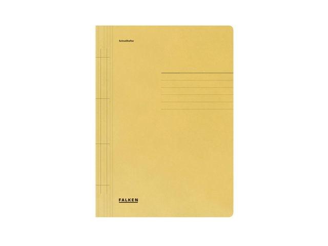 FALKEN Hechtmap Falken A4 karton 250g geel/100