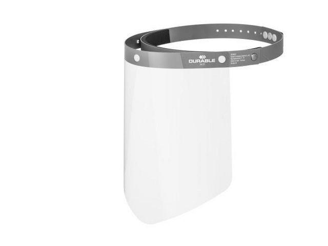 Durable Gelaatsscherm CE-conform transparant