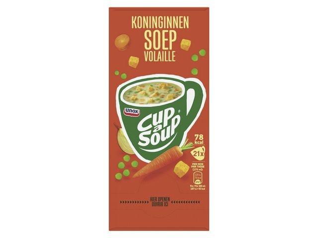 Unox Soep Cup-a-soup Unox Koninginnen/pk21