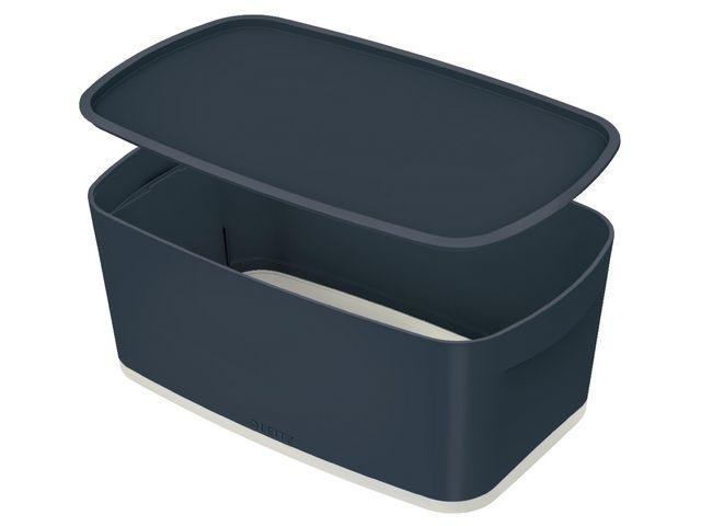 Leitz Opbergbox MyBox Cosy small fluweel grijs