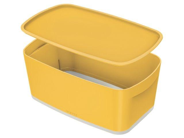 Leitz Opbergbox MyBox Cosy small warm geel