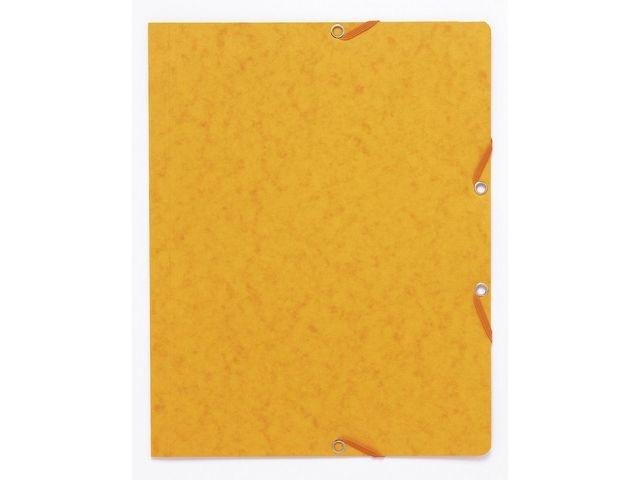 LUCART Elastomap A4 Manilla karton geel/pak 10