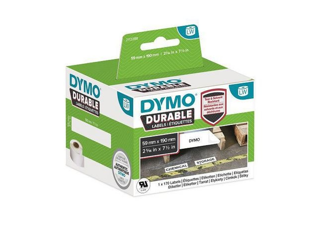 Dymo Label Dymo Durable 59x190mm 1x170