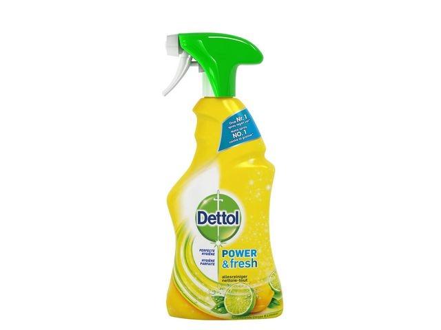 Dettol Dettol Power And Fresh Allesreiniger Spray (fles 500 milliliter)